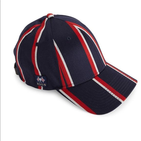 Rag   Bone Marilyn Striped Baseball Cap 52798f28bd2f